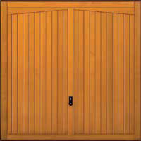 Hormann Series 2000 timber up and over garage doors Style 2020 Gatcombe