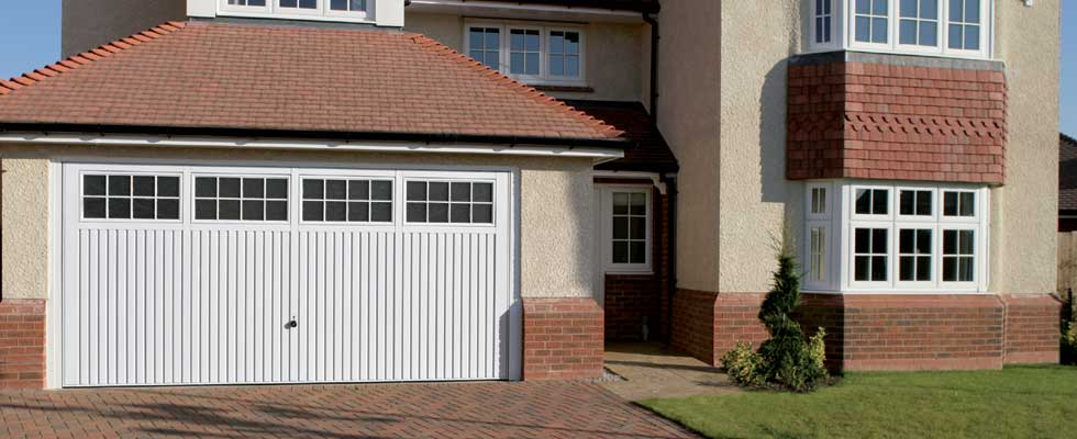 Up and over garage door